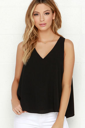 En Route to Cute Black Top at Lulus.com!