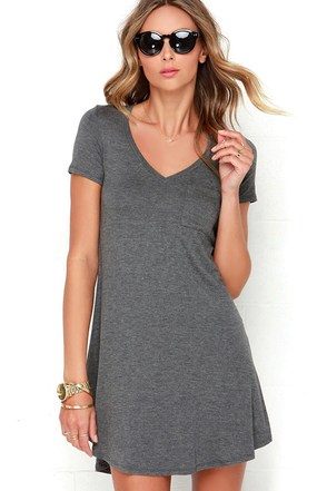 Better Together Olive Green Shirt Dress at Lulus.com!