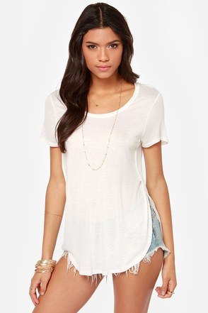 All-Love the Above Ivory Tee