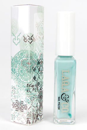 LAQA & Co. Chubs Gold Nail Polish at Lulus.com!