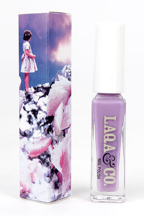 LAQA & Co. Chuffed Lavender Nail Polish at Lulus.com!