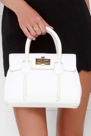 Mini-mal Style Ivory Mini Handbag at Lulus.com!