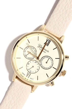 Just a Sec Ivory Watch at Lulus.com!