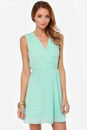 Someone Like You Mint Dress