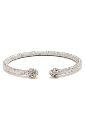 Star Studded Affair Gold Rhinestone Bracelet at Lulus.com!