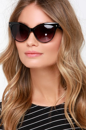 Right Meow White Sunglasses at Lulus.com!