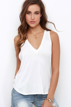 Sweet Interlude Heather Grey Sleeveless Top at Lulus.com!