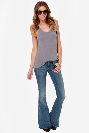 Blank NYC Belles and Whistles Medium Wash Bell-Bottom Jeans