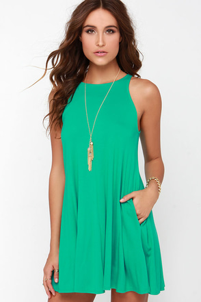 Tupelo Honey Green Dress at Lulus.com!