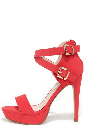 Raise the Roof Nude Nubuck Platform Sandals at Lulus.com!