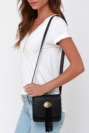 West is Best Black Purse at Lulus.com!