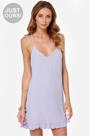 LULUS Exclusive Dream Scheme Dusty Lavender Dress