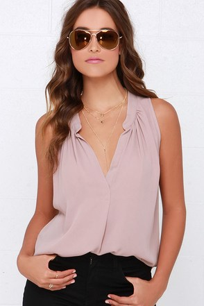 Ladies Who Brunch Royal Blue Sleeveless Top at Lulus.com!