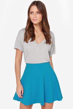 Dolly Pardon Me Blue Skirt