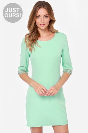 LULUS Exclusive Sleeve-ing Beauty Mint Green Dress at Lulus.com!