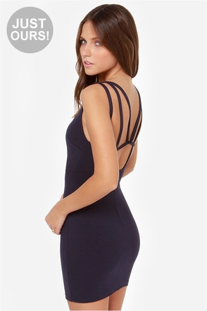 LULUS Exclusive Loop Delilah Black Bodycon Dress