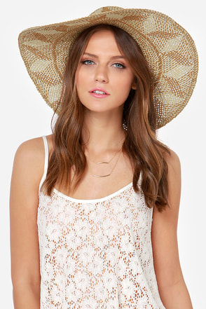 Billabong Sunbeat Summerz Beige Straw Hat