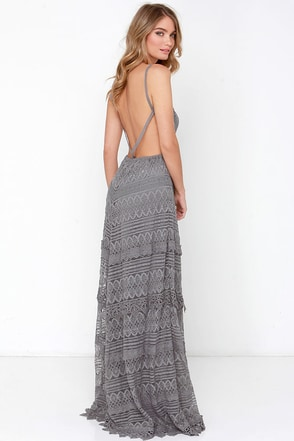 Beneath the Garden Arbor Dusty Rose Lace Maxi Dress at Lulus.com!