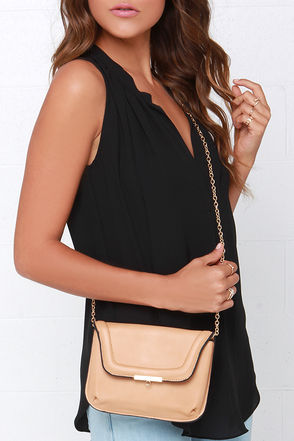 Mi Amiga Beige Purse at Lulus.com!