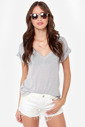 Blank NYC Little Queenie White Cutoff Shorts