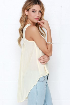 Joy to the Whirled Cream Top at Lulus.com!
