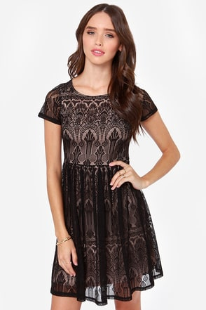 Black Swan Scarlett Black Lace Dress