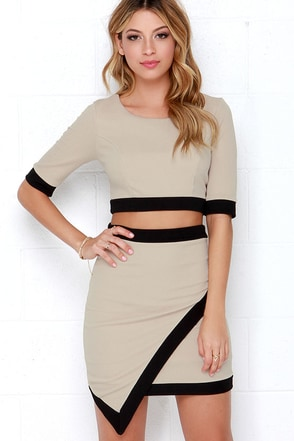 Tickle the Ivories Ivory Two-Piece Dress at Lulus.com!