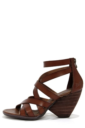 Blowfish Enola Whiskey Strappy High Heel Sandals