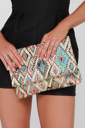 Love to Love You Beige Sequin Clutch at Lulus.com!