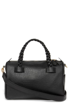 In Your Favor Black Purse at Lulus.com!