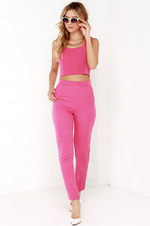 Together Forever Pink Two-Piece Set at Lulus.com!