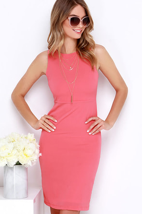 Bright Idea Ivory Bodycon Midi Dress at Lulus.com!