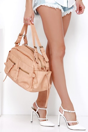 All in All Peach Tote at Lulus.com!