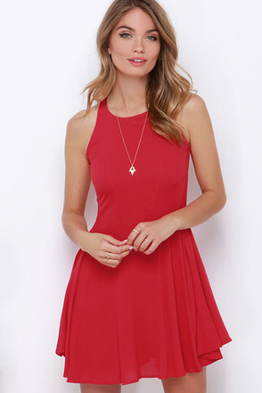 Stories of Sunshine Red Dress at Lulus.com!