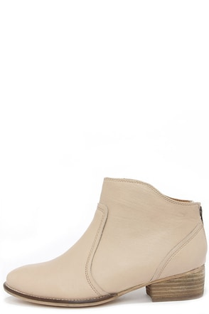 Seychelles Reunited Natural Leather Ankle Boots at Lulus.com!