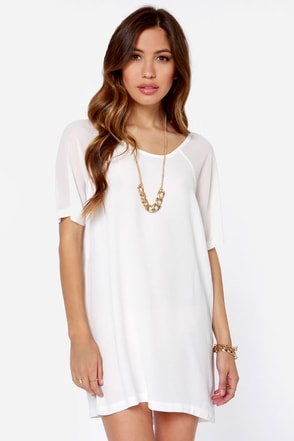 Mink Pink And She Was Ivory Dress