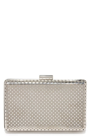 Shine Down Silver Clutch at Lulus.com!