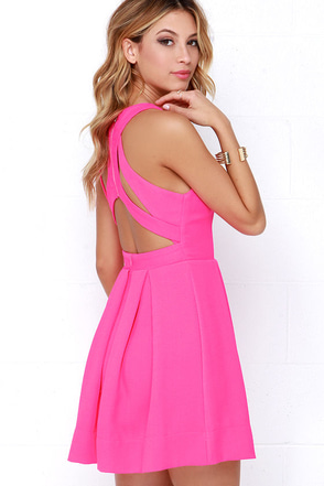 Test Drive Light Blush Dress at Lulus.com!