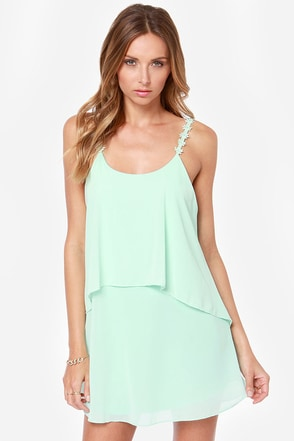 Daisy-ing is Believing Mint Dress