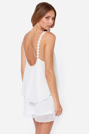Daisy-ing is Believing Ivory Dress