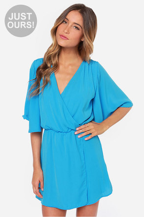LULUS Exclusive The Way You Move Blue Dress at Lulus.com!