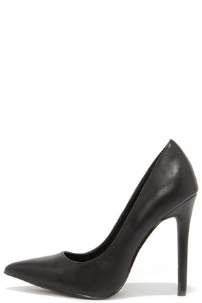 LULUS Gigi Grey Pointed Pumps at Lulus.com!