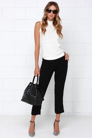 Limitless Black Pants at Lulus.com!