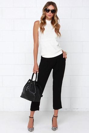 Limitless Black Pants at Lulus.com!