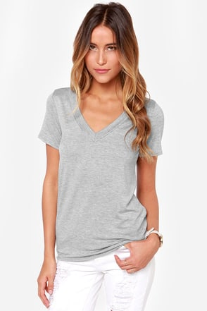 It Takes Tee to Tango Grey Tee