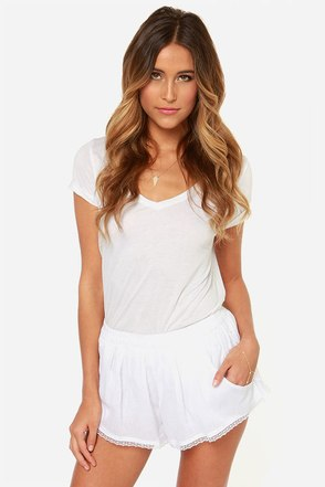 Billabong Sand Kisses White Shorts