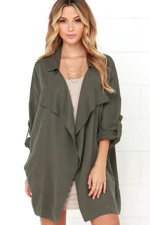 Lucky Break Beige Oversized Jacket at Lulus.com!