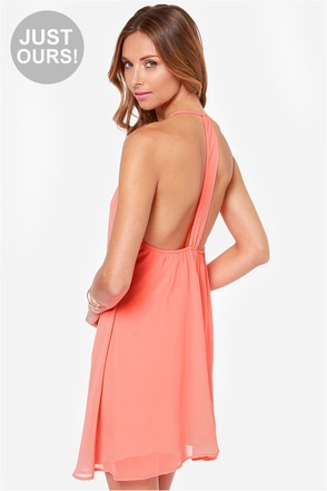 LULUS Exclusive Piece of Paradise Neon Pink Dress