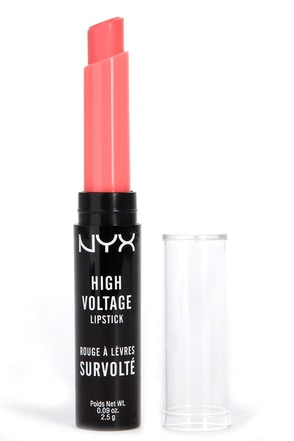 NYX Beam High Voltage Peach Lipstick at Lulus.com!