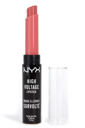 NYX Pink Lady High Voltage Coral Lipstick at Lulus.com!
